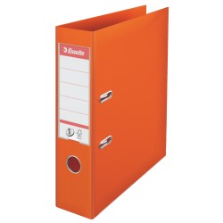 Biblioraft Esselte No.1, PP, 75 mm, portocaliu