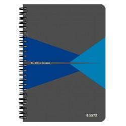 Caiet Leitz Office cu spira, coperta PP, A5, matematica