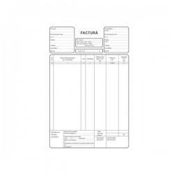 Facturier, A4, autocopiativ, 3 exemplare, 3 carnete/set