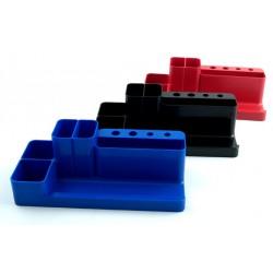 Suport pentru accesorii de birou Flaro, albastru