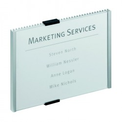 Info sign Durable, 210 x 148.5 mm