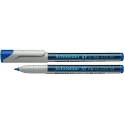 Universal non-permanent marker SCHNEIDER Maxx 225 M, varf 1mm - albastru