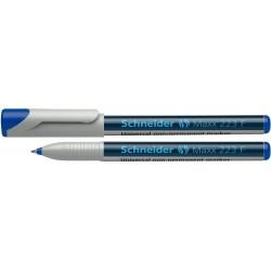 Universal non-permanent marker SCHNEIDER Maxx 223 F, varf 0.7mm - albastru