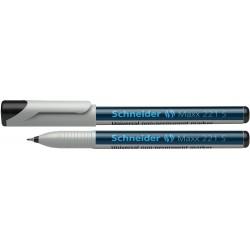 Universal non-permanent marker SCHNEIDER Maxx 221 S, varf 0.4mm - negru