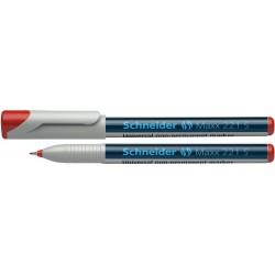 Universal non-permanent marker SCHNEIDER Maxx 221 S, varf 0.4mm - rosu