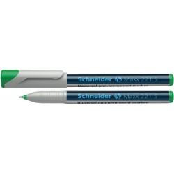 Universal non-permanent marker SCHNEIDER Maxx 221 S, varf 0.4mm - verde