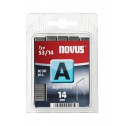 Capse Novus pentru tackere, 53/14, 1000 bucati/cutie