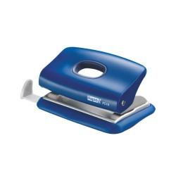Mini-perforator plastic RAPID FC10, 10 coli - albastru