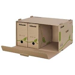 Container pentru arhivare și transport Esselte Eco cu deschidere frontală