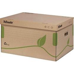 Container pentru arhivare si transport Esselte Eco cu capac