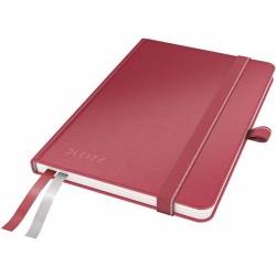 Caiet de birou Leitz Complete, A6, dictando - rosu