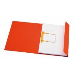 Dosar carton color cu alonja arhivare de mare capacitate, JALEMA Secolor - rosu