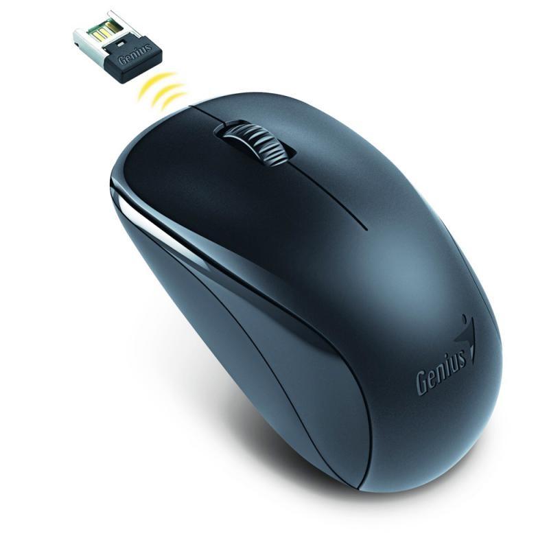 Mouse Genius wireless, optic, NX-7000, 1200dpi, negru