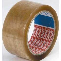 Banda adeziva Tesa transparenta, 25 mm x 66 m