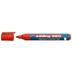 Marker Edding 380 pentru flipchart, rosu