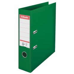 Biblioraft Esselte No.1, PP, 75 mm, verde