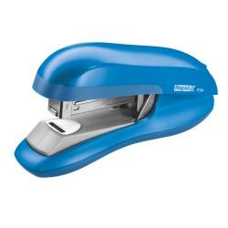 Capsator plastic RAPID F30, 30 coli, capsare plata - albastru deschis