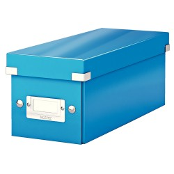 Cutie Leitz Click & Store pentru CD-uri, albastru