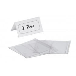 Ecuson de birou Durable, 61 x 150 mm, 25 bucati/cutie