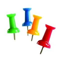 Ace Memoris-Precious pentru tabla de pluta, divers colorate, 50 buc/cutie