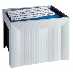 Suport plastic pentru 35 dosare suspendabile, HAN Karat - gri deschis