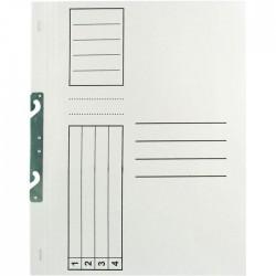 Dosar incopciat 1/1 standard, alb, 10 bucati/set