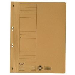 Dosar carton cu capse 1/1 ELBA Smart Line - galben