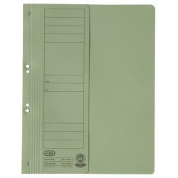 Dosar carton cu capse 1/2 ELBA - verde