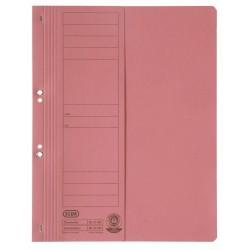 Dosar carton cu capse 1/2 ELBA Smart Line - rosu
