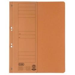 Dosar carton cu capse 1/2 ELBA - orange