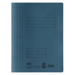 Dosar carton cu sina ELBA - albastru