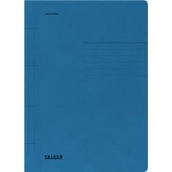 Dosar Falken cu sina, A4, 250 g/mp, albastru