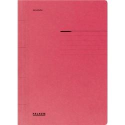 Dosar Falken cu sina, A4, 250 g/mp, rosu