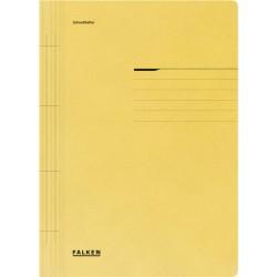 Dosar Falken cu sina, A4, 250 g/mp, galben