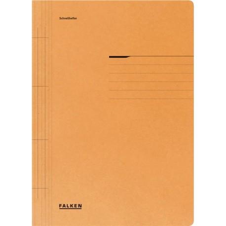 Dosar Falken cu sina, A4, 250 g/mp, portocaliu