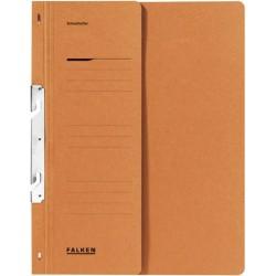 Dosar de incopciat 1/2 Falken, carton, 250 g/mp, portocaliu