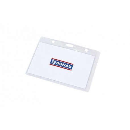 Ecuson orizontal Donau, transparent, 102x64 mm