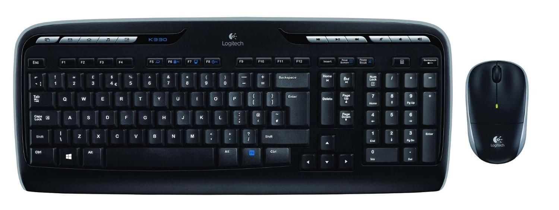 Kit Tastatura + Mouse Wireless Logitech MK330, negru