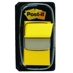Index Post-it Clasic, 25.4 x 43.2 mm, 50 indecsi/set, galben
