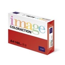 Carton color Coloraction, A4, 160 g, 250 coli/top, rosu - Chile