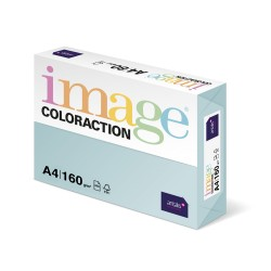 Carton color Coloraction, A4, 160 g, 250 coli/top, bleu pal - Lagoon