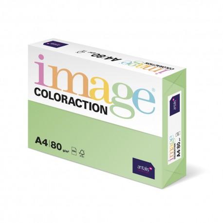 Hartie color Coloraction, A4, 80 g, 500 coli/top, verde padure - Forest