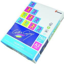 Hartie Color Copy, A3, 160 g, 250 coli/top