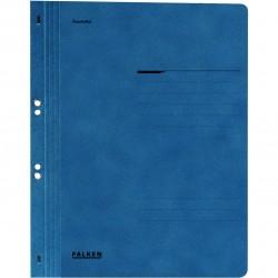 Dosar cu gauri 1/1 Falken Lux, carton, 250 g/mp, albastru