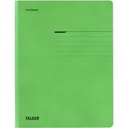 Dosar plic Falken Lux, carton, 320 g/mp, A4, verde