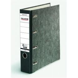 Biblioraft Falken cu 2 mecanisme, 318 x 285 mm, 70 mm, negru marmorat