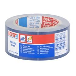 Banda adeziva de marcare Tesa, albastra, 50 mm x 33 m