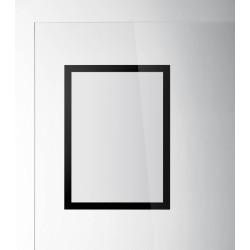 Duraframe magnetic SUN Durable, format A4, negru