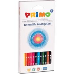Creioane colorate Morocolor Maxi, 3 mm diametru, 12 culori/cutie