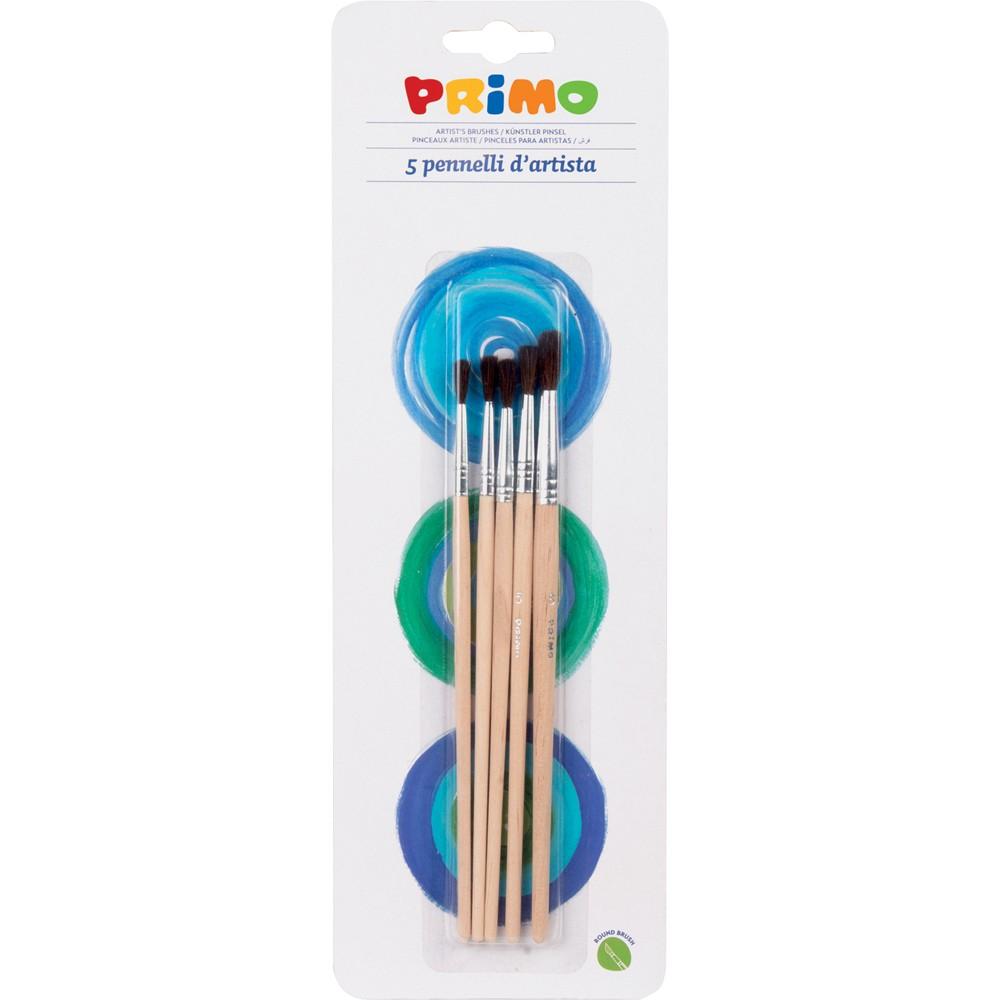 Set de pensule Morocolor, rotunde